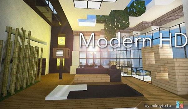 Modern HD Texture Pack para Minecraft 1.9 y 1.8