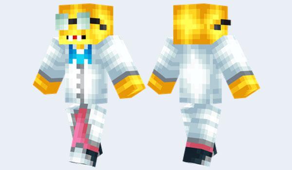 Professor Frink Skin para Minecraft