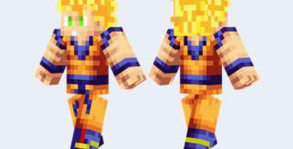 Son Goku Skin para Minecraft