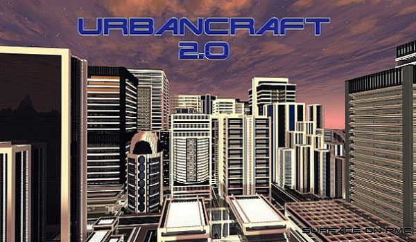 Urbancraft Texture Pack para Minecraft 1.7.2