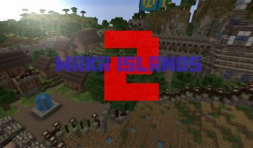 Waka Islands 2 Map para Minecraft 1.12 y 1.11