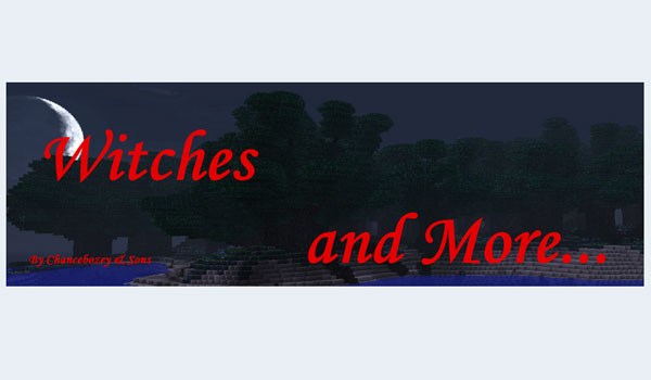 Witches and More Mod para Minecraft 1.6.4