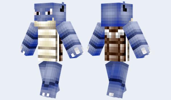 Blastoise Skin para Minecraft
