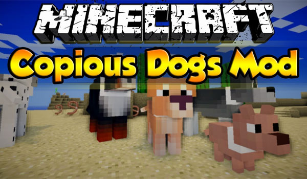Copious Dogs Mod para Minecraft 1.6.4
