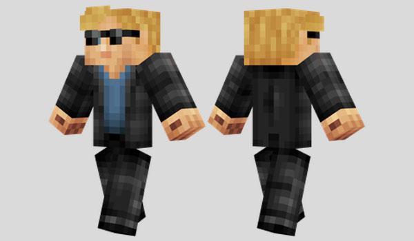 Horatio Caine Skin para Minecraft