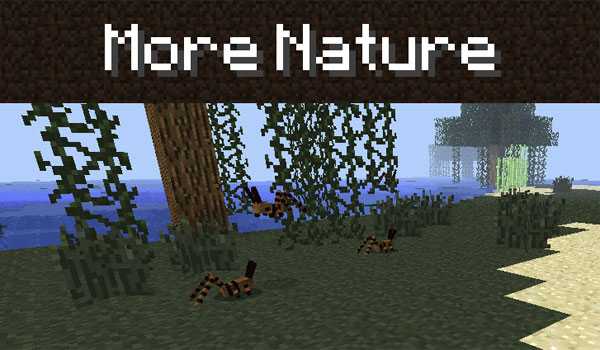 More Nature 1.7.2 y 1.7.10