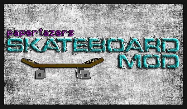 Skateboard Mod para Minecraft 1.6.2 y 1.6.4