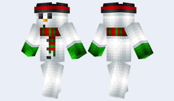 Snowman Skin para Minecraft