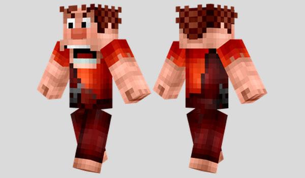Wreck It Ralph Skin para Minecraft