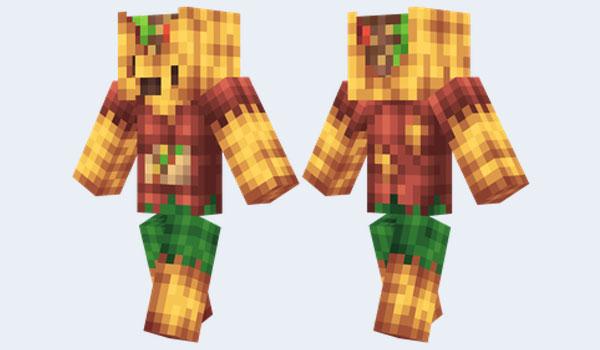 Zombie Taco Skin para Minecraft