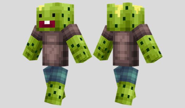 Cactus Boy Skin para Minecraft
