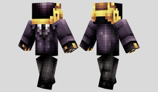 Guy-Manuel Skin para Minecraft