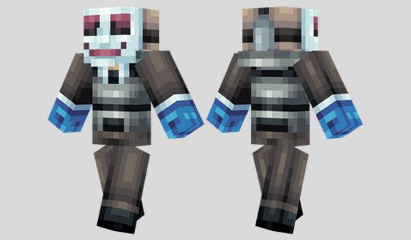 Hoxton Skin para Minecraft