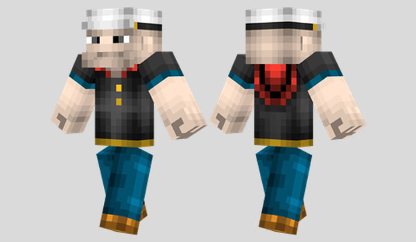 Popeye Skin para Minecraft