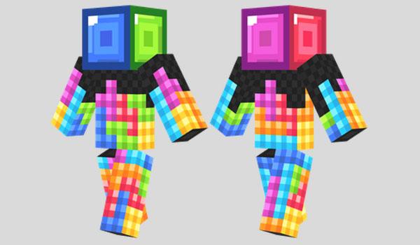 Tetris Skin para Minecraft