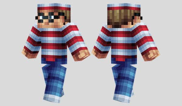 Waldo Skin para Minecraft