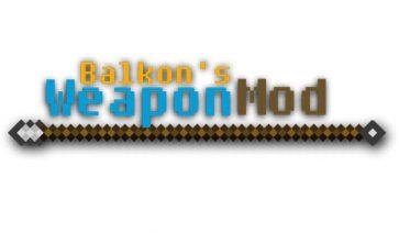 Weapon Mod para Minecraft 1.7.2 y 1.7.10