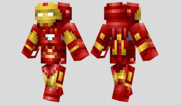 Iron Man Skin para Minecraft