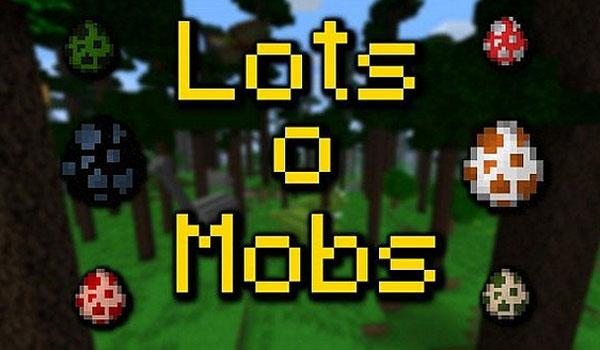 LotsOMobs 1.7.2 y 1.7.10