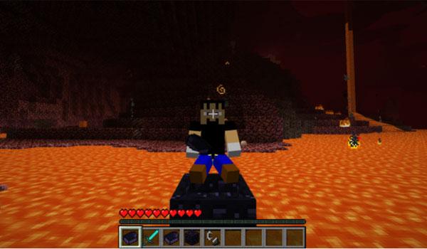 Obsidian Boat Mod para Minecraft 1.7.2 y 1.7.10
