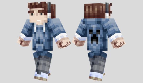 Parkour Teen Skin para Minecraft