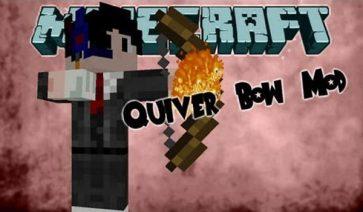 QuiverBow Mod para Minecraft 1.7.10 y 1.7.2