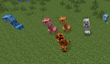 Varied Creepers Mod para Minecraft 1.7.2