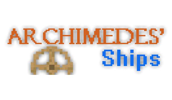 Archimedes Ships Mod para Minecraft 1.7.10 y 1.7.2