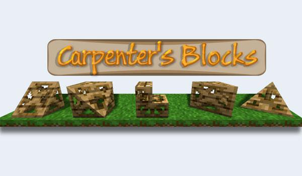 Carpenter's Blocks Mod para Minecraft 1.7.2 y 1.7.10