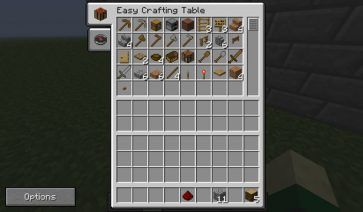 Easy Crafting Mod para Minecraft 1.7.2 y 1.7.10
