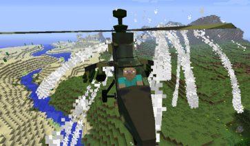 MC Helicopter Mod para Minecraft 1.7.10 y 1.7.2