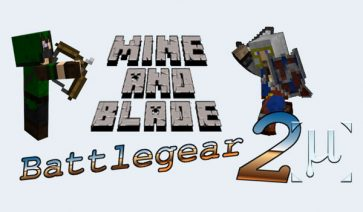 Mine and Blade 2 Mod para Minecraft 1.7.10 y 1.7.2