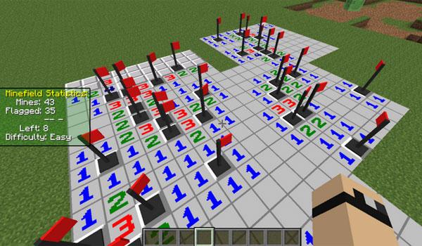 MineSweeper Mod para Minecraft 1.7.2