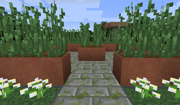 Modular Flower Pots Mod para Minecraft 1.7.2 y 1.7.10