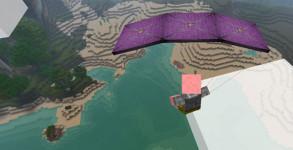 Parachute Mod para Minecraft 1.7.2