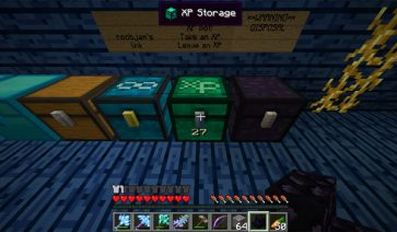XP Storage Chest Mod para Minecraft 1.7.2