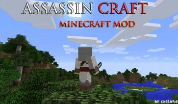 AssassinCraft Mod para Minecraft 1.7.2 y 1.7.10