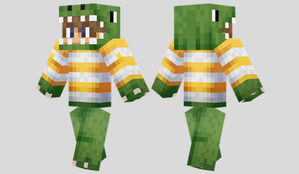 Dino Boy Skin para Minecraft