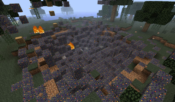 Falling Meteors Mod para Minecraft 1.7.2 y 1.7.10