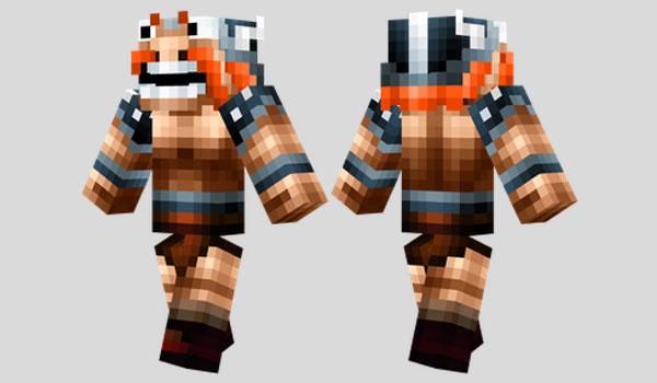 Happy Viking Skin para Minecraft