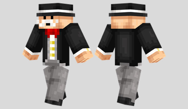 Monopoly Man Skin para Minecraft