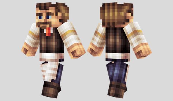 Barman Skin para Minecraft