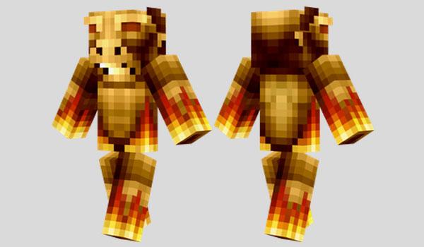 Brazen Bull Skin para Minecraft