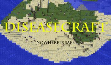 DiseaseCraft Mod para Minecraft 1.7.2 y 1.7.10