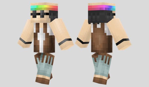 Hippie Skin para Minecraft