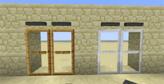 MalisisDoors Mod para Minecraft 1.7.2