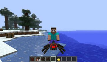 Rideable Spiders Mod para Minecraft 1.7.2