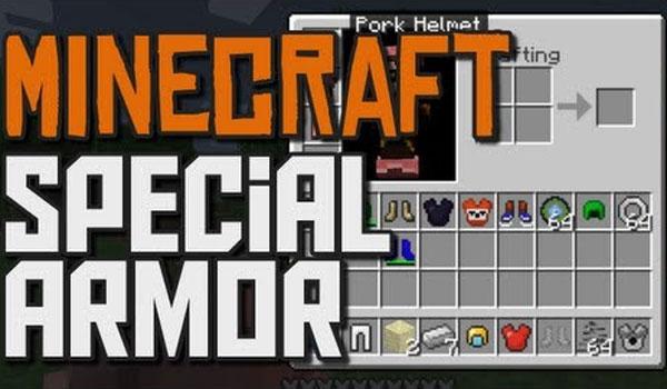 Special Armor Mod para Minecraft 1.7.2 y 1.7.10