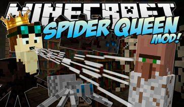 Spider Queen Mod para Minecraft 1.7.2 y 1.7.10