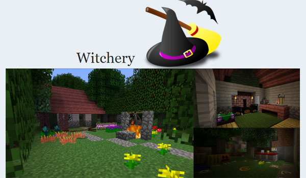 Witchery Mod para Minecraft 1.7.2 y 1.7.10